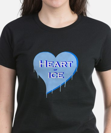 Heart of Ice Women's Dark T-Shirt