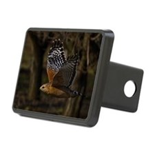 (14) Red Shouldered Hawk F Hitch Cover