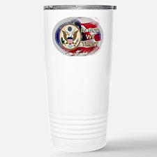 USA In God We Trust Travel Mug