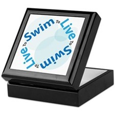 LiveSwim_Side2_Bub_T Keepsake Box