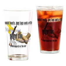 grandsonUSAF Drinking Glass