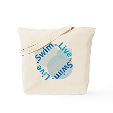 LiveSwim_Side2_Bub_T Tote Bag