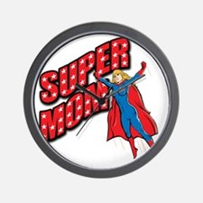 Super Mom Wall Clock