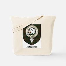 McKinnon Clan Crest Tartan Tote Bag