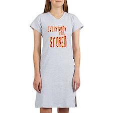 Stoned Women's Nightshirt