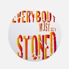 Stoned Round Ornament