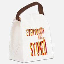 Stoned Canvas Lunch Bag