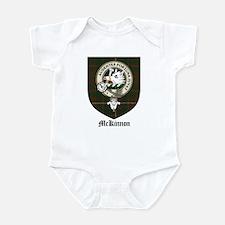 McKinnon Clan Crest Tartan Infant Bodysuit