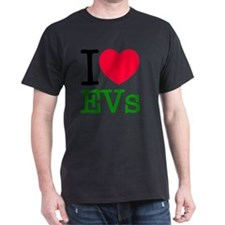 I Love Electric Vehicles T-Shirt