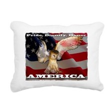 4D5Q2378 American Barn O Rectangular Canvas Pillow