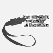 Blowin in the Wind Luggage Tag