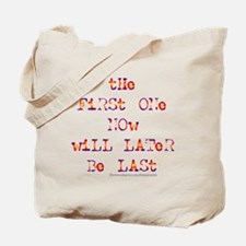 First Last-k Tote Bag