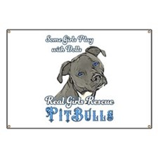 Real Girls Rescue Pitbulls Banner