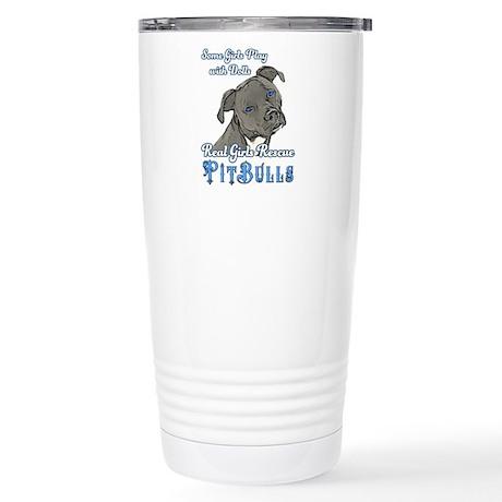 Real Girls Rescue Pitbulls Travel Mug