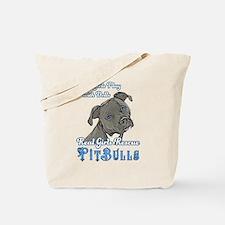 Real Girls Rescue Pitbulls Tote Bag