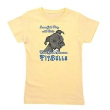 Real Girls Rescue Pitbulls Girl's Tee