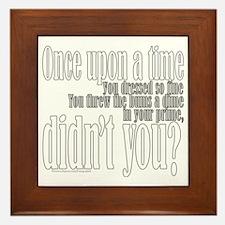 Once Upon a Time Framed Tile