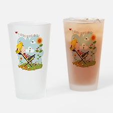 sunbunny Drinking Glass