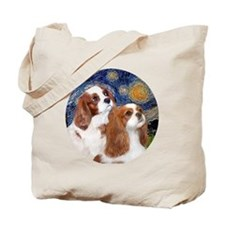 J-ORN-Cavaliers-Two BL Tote Bag