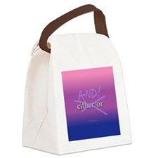 AndRound Canvas Lunch Bag