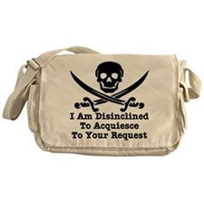 wht_Pirate_Disinclined_Request Messenger Bag