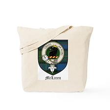 McLaren Clan Crest Tartan Tote Bag