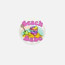 Beach Babe Mini Button