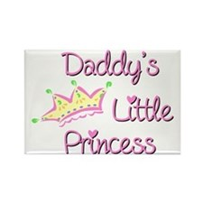 Daddys Little Princess Rectangle Magnet