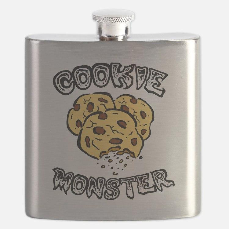 Cookie Monster Flask