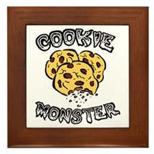 Cookie Monster Framed Tile