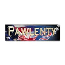 2012 bumber sticer pawlenty Car Magnet 10 x 3