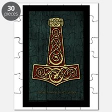 Thors Hammer Red V-Blood Large Puzzle