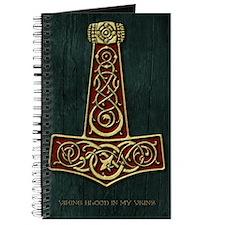 Thors Hammer Red V-Blood Large Journal