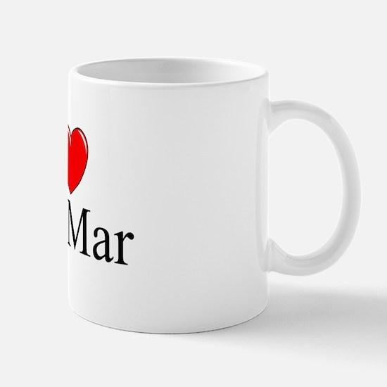 """""""I Love Del Mar"""" Mug"""
