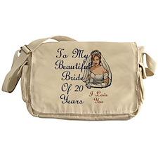Beautiful Bride 20 Messenger Bag