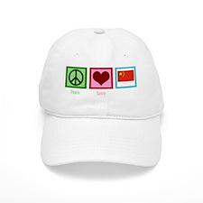 peacelovechinawh Baseball Cap