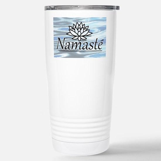 NamasteLotusFocal-waterBG-lower Stainless Steel Tr