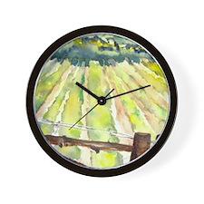 vineyard2 Wall Clock