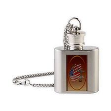 OvalJeweA Great Loyalty Flask Necklace