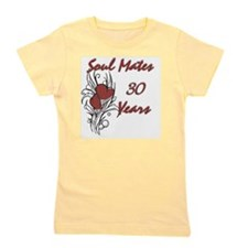 SOUL MATES Red 30 Girl's Tee