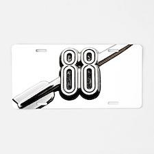 auto-oldsmobile-88-001b Aluminum License Plate
