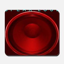 cab12on15g_red_speakloud Mousepad