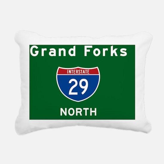 Grand Forks 29 Rectangular Canvas Pillow