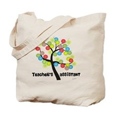 Teachers Assistant Tree Bubbles Tote Bag
