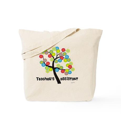 Teachers Assistant Tree Bubbles Tote Bag