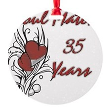 SOUL MATES Red 35 Ornament