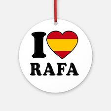 Rafa Flag Round Ornament