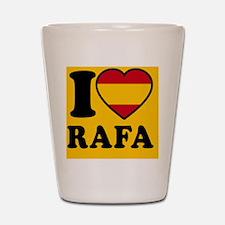 Rafa Flag Btn2 Shot Glass
