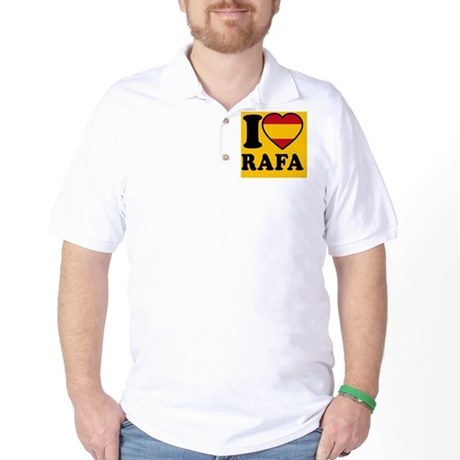 Rafa Flag Btn2 Golf Shirt
