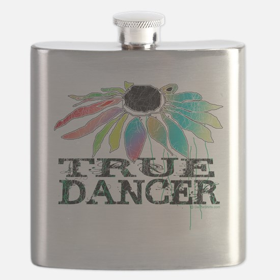 true dancer coneflower for white t-shirts co Flask